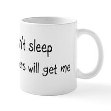 Can't sleep, Hamsters will ge Mug