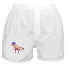 Mack- a- saurus Rex Boxer Shorts