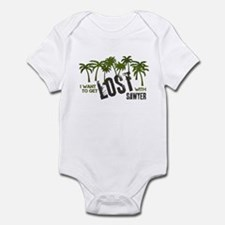 I want to get LOST with SAWYE Infant Bodysuit