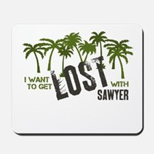 I want to get LOST with SAWYE Mousepad