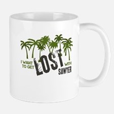 I want to get LOST with SAWYE Small Small Mug