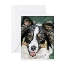 collie pup Greeting Card