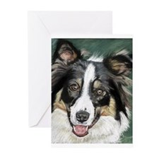 collie pup Greeting Cards (Pk of 10)