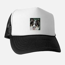 collie pup Trucker Hat