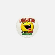 Laughter is the Best Medicine Mini Button (100 pac