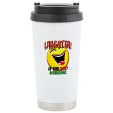 Laughter is the Best Medicine Travel Mug