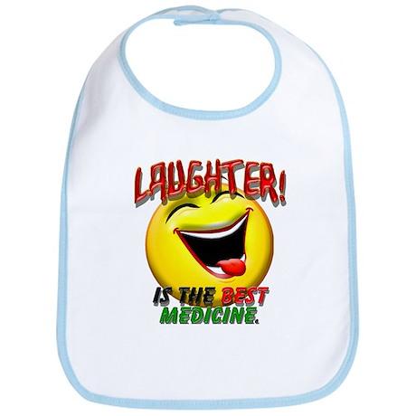 Laughter is the Best Medicine Bib