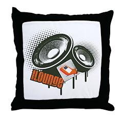 Loud N Proud Throw Pillow