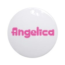 """Angelica"" Ornament (Round)"