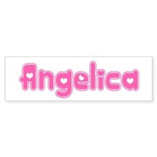 """Angelica"" Bumper Bumper Sticker"