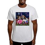 BEAGLE valentine Ash Grey T-Shirt
