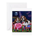 BEAGLE valentine Greeting Cards (Pk of 10)