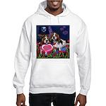 BEAGLE valentine Hooded Sweatshirt
