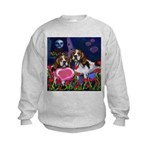 BEAGLE valentine Kids Sweatshirt