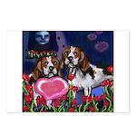 BEAGLE valentine Postcards (Package of 8)
