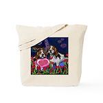 BEAGLE valentine Tote Bag