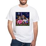 BEAGLE valentine White T-Shirt