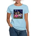 BEAGLE valentine Women's Pink T-Shirt