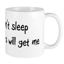 Can't sleep Lemurs will get m Mug