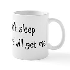 Can't sleep Lemurs will get m Mug