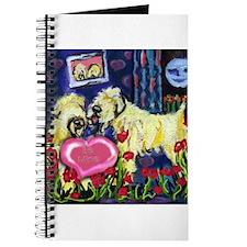 SOFT COATED WHEATEN Valentine Journal
