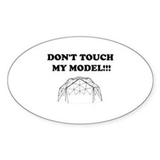 Don't Touch My Model! Decal