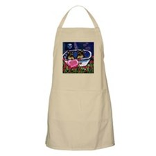 SMOOTH COLLIE Valentine BBQ Apron