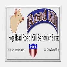 Road Kill Tile Coaster