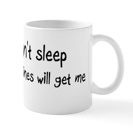 Can't sleep Porcupines will g Mug