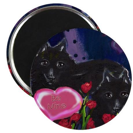 """Schipperke Valentine 2.25"""" Magnet (10 pack)"""