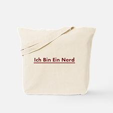 Ich Bin Ein Nerd Tote Bag