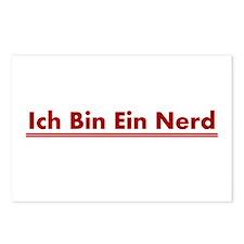 Ich Bin Ein Nerd Postcards (Package of 8)