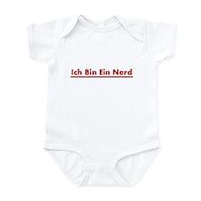 Ich Bin Ein Nerd Infant Bodysuit