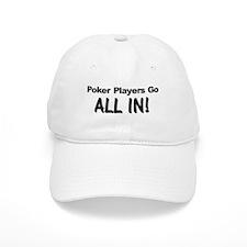 Poker Players Baseball Cap