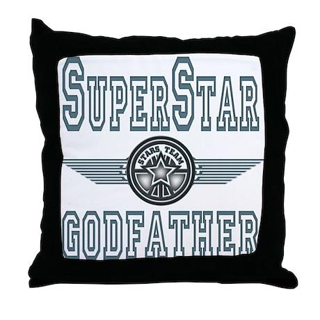 Superstar Godfather Throw Pillow