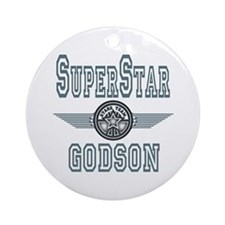 Superstar Godson Ornament (Round)