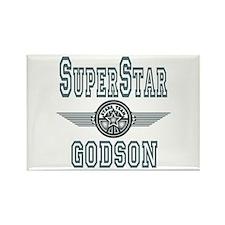 Superstar Godson Rectangle Magnet