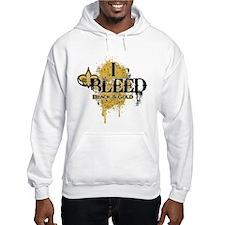 I Bleed Black and Gold Hoodie