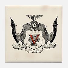 Vampyr Crest Tile Coaster