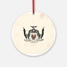 Vampyr Crest Ornament (Round)