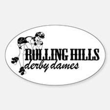 Rolling Hills Derby Dames Decal