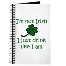 Drink like I'm Irish Journal