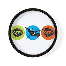 Triple Dot Soul Wall Clock