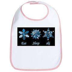 Eat Sleep Ski Bib