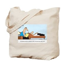 Paying Taxes! Tote Bag
