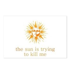 The Sun is Trying to Kill Me Postcards (Package of