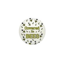 Unique Bumblebee Mini Button