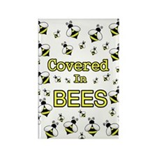 covered in beesD Magnets