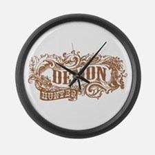Demon Hunter Old West Large Wall Clock
