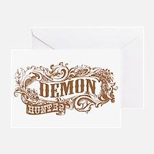 Demon Hunter Old West Greeting Card